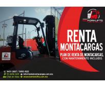 RENTA DE MONTACARGAS