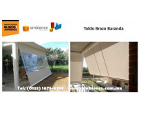Toldos y Cortinas Retractiles Europeos en Camino Real Zapopan