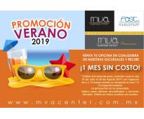 Promoción de mes gratis en MVA CENTER.