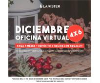 OFICINA VIRTUAL + DOMICILIO FISCAL + PROMO DE DICIEMBRE  DESDE  $ 500 MXN
