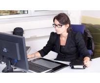 Contrato secretaria/o
