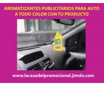 AROMATIZANTES PUBLICITARIOS PARA AUTO