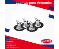 OFERTA DE RODAJAS PARA ANDAMIO DE 8