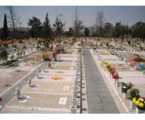 Fosa 2 servicios funerarios Panteón Jardín Guadalupano Cd Azteca