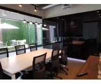 Renta oficina ejecutiva con promoción