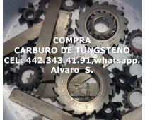 COMPRA DE PEDACERIA DE CARBURO EN GUAYMAS