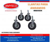 RODAJAS PARA ANDAMIO AMYECO