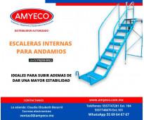 ESCALERA PARA ANDAMIO AMYECO