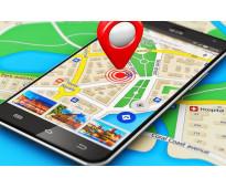 Localizar por medio de GPS la paz Baja California
