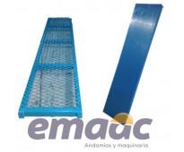 Plataformas triplay y metálica para andamios