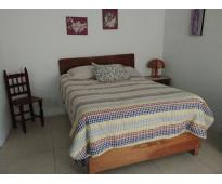 Loft amueblado 1 planta recámara baño cochera cocina Puebla