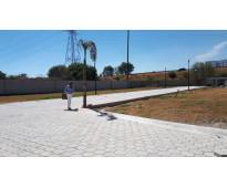 Terreno 205 m2 urbanizado Lateral Recta Cholula y Periférico Puebla