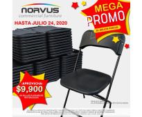 Paquetes de 50 sillas a precio especial para hogar y negocio