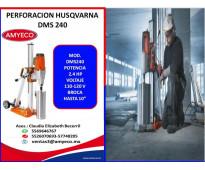 Perforación DMS240 HUSQVARNA