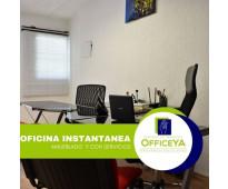 Oficina  Amueblada  OfficeYA
