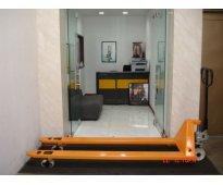 Estibadora Hidráulica Manual  EXTRA LARGE Ref C68/2000/2 Metros