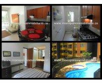 apartamento amoblado para alquilar en el poblado cod. 1052