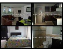 alquiler  de apartamento amoblado en laureles cod. 583