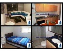 alquiler apartamento amoblado en el poblado oviedo cod. 334