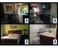 rento apartamento amoblado en el poblado milla de oro cod.428
