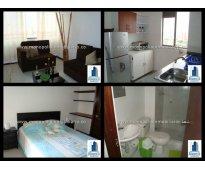 apartamento amoblado en laureles cod.476