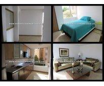 apartamento amoblado para la renta en medellin el poblado cd 3981