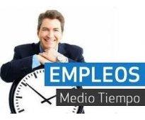 CONVOCATORIA DE TRABAJO MEDIO TIEMPO