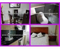 apartamento amoblado para la renta en el trapiche sabaneta cod 3750