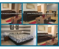 apartamento amoblado para la renta en el poblado medellin cod 3619