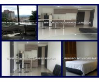 apartamento amoblado para la renta en el poblado medellin cod 3354