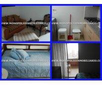 apartamento amoblado para la renta en laureles medellin cod 3163