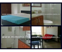 apartamento amoblado para la renta en medellin san joaquin cd 3227