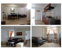 apartamento amoblado para la renta en laureles cod. 4009