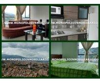 apartamento amoblado para alquilar en medellin  sector belen cod.3843