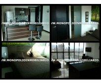 apartamento amoblado - barrio el poblado medellin cod.3841