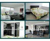 apartamento amoblado - barrio el poblado medellin cod.3840