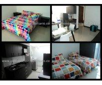 rento apartamento amoblado en laureles cod. 718