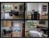 apartamento amoblado para la renta en el poblado cod. 721