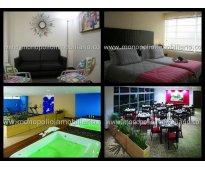 rento apartamento amoblado en el poblado cod. 647