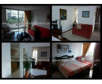 rento apartamento amoblado en el poblado cod. 667