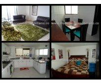 rento apartamento amoblado en el poblado cod. 728