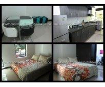rento apartamento amoblado en laureles cod. 753