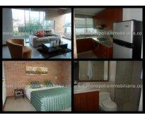 rento apartamento amoblado en el poblado cod. 768