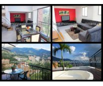 rento apartamento amoblado en el poblado cod. 782