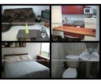 rento apartamento amoblado en el poblado cod. 787