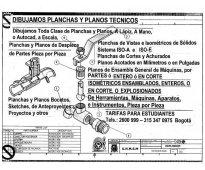 DIBUJO PERSPECTIVA ISOMÉTRICA EXPLOSIONADA DE CONJUNTOS DE PIEZAS