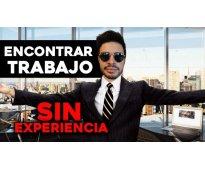 TRABAJO DE MEDIO TIEMPO Y SIN EXPERIENCIA