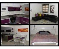 apartamento amoblado para la renta en laureles  cd 4008