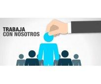 TRABAJO MEDIO TIEMPO BACHILLERES Y/O UNIVERSITARIOS