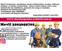 Electricista Galerias,chapinero,la sledad,parkway,esmerlda,federman,santa teresi...